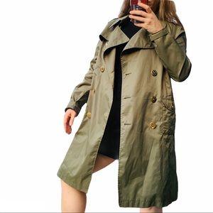 Baby Phat Weather Camo Green Leopard Coat